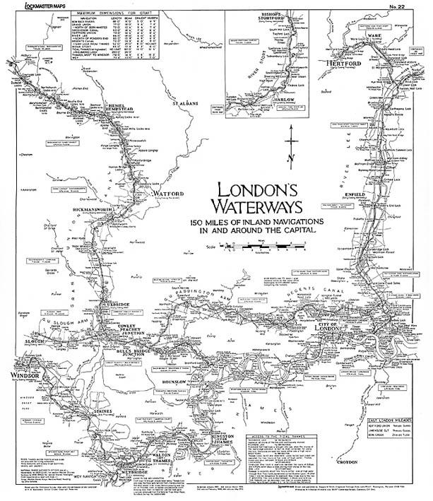 No #22 Londons Waterways