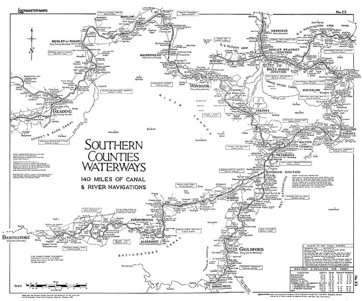 No #23 Southern Counties Waterways